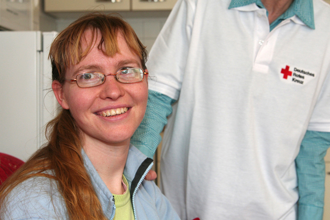 Behindertenhilfe, Betreutes Wohnen, Potsdam, DRK