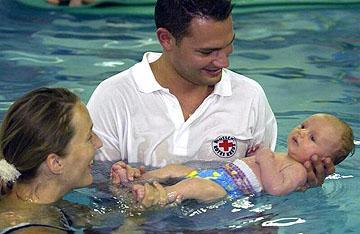 Babyschwimmen, DRK, Kinder, Kurse